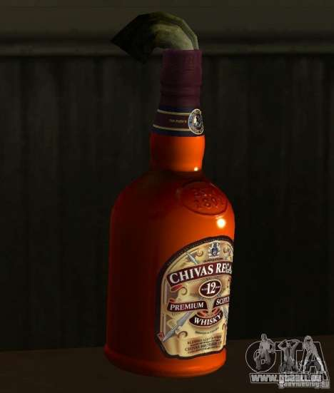 Cocktail Molotov pour GTA San Andreas
