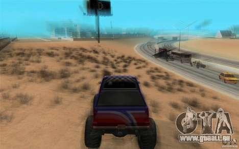 Maximum speed pour GTA San Andreas deuxième écran