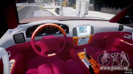 Toyota Land Cruiser 100 Stock pour GTA 4 est un droit