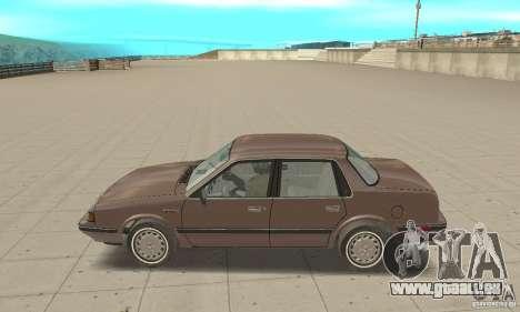Oldsmobile Cutlass Ciera 1993 pour GTA San Andreas sur la vue arrière gauche