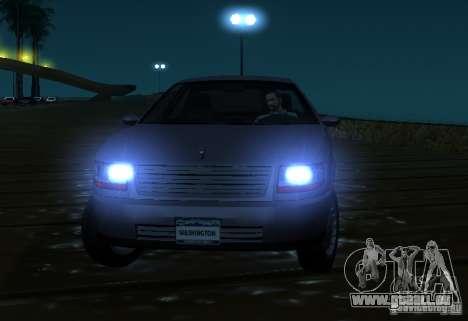 Washington de GTA IV pour GTA San Andreas vue arrière