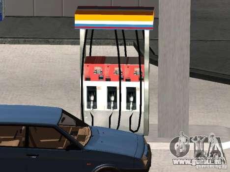 La station-service Lukoil pour GTA San Andreas quatrième écran
