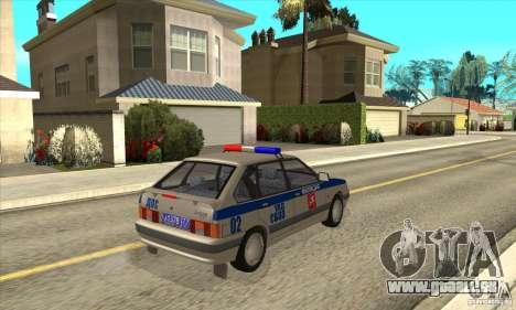ВАЗ 2114-DPS für GTA San Andreas rechten Ansicht