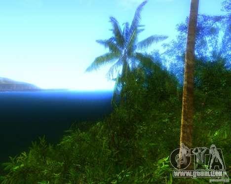 Modification graphique globale pour GTA San Andreas deuxième écran