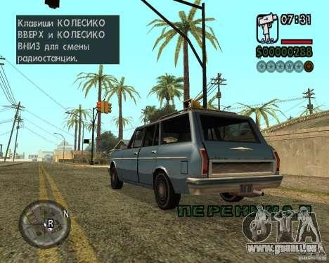 NewFontsSA 2012 für GTA San Andreas achten Screenshot
