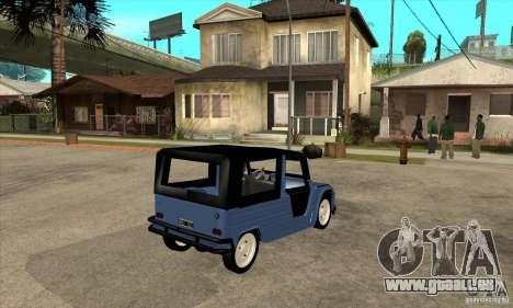 Citroen Mehari für GTA San Andreas rechten Ansicht