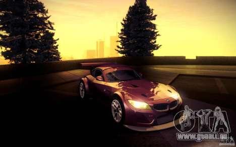 BMW Z4 E89 GT3 2010 pour GTA San Andreas