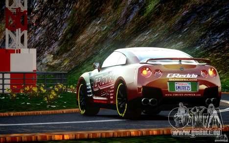 Nissan GT-R Black Edition GReddy für GTA 4 rechte Ansicht