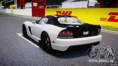 Dodge Viper SRT-10 ACR 2009 v2.0 [EPM] für GTA 4 hinten links Ansicht