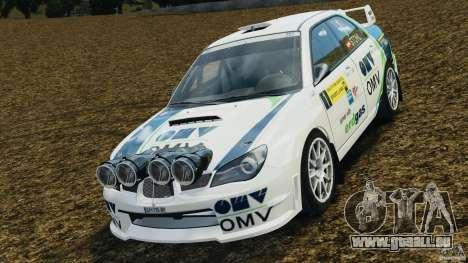 Subaru Impreza WRX STI N12 pour GTA 4