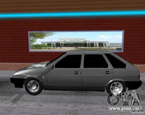 VAZ 2109 Spoutnik pour GTA San Andreas laissé vue