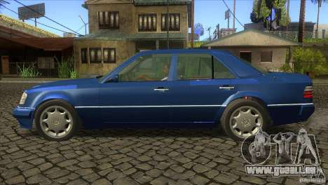 Mersedes-Benz E500 pour GTA San Andreas vue de droite