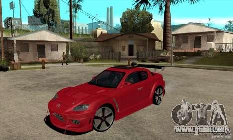 Mazda RX8 für GTA San Andreas