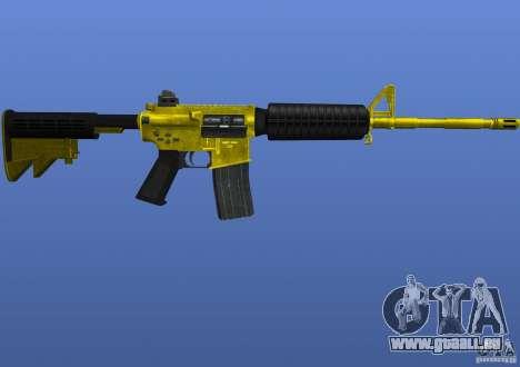 M4A1 pour GTA 4 secondes d'écran