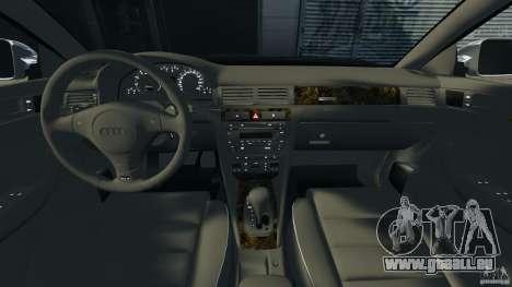 Audi RS6 2003 für GTA 4 Rückansicht