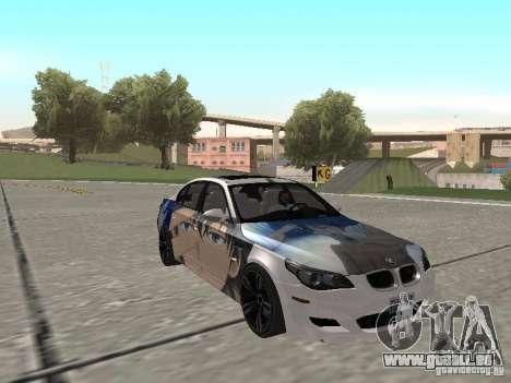 BMW M5 E60 für GTA San Andreas Innen