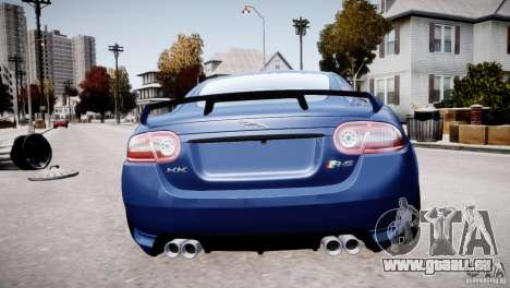 Jaguar XKR-S 2012 pour GTA 4 Salon