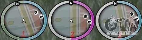 NEW GTA IV HUD 3 für GTA San Andreas zweiten Screenshot
