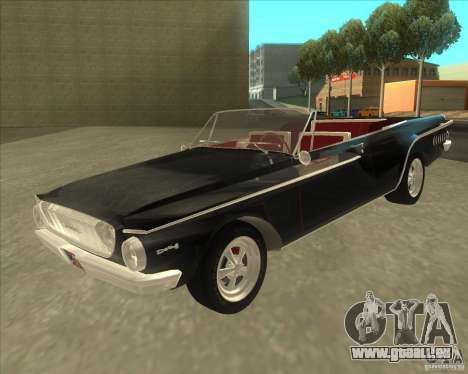 1962 Dodge Dart 440 pour GTA San Andreas