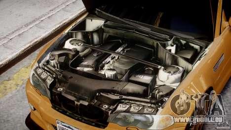 BMW M3 E46 Tuning 2001 v2.0 pour GTA 4 Vue arrière