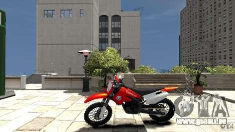 Yamaha Cross für GTA 4 linke Ansicht