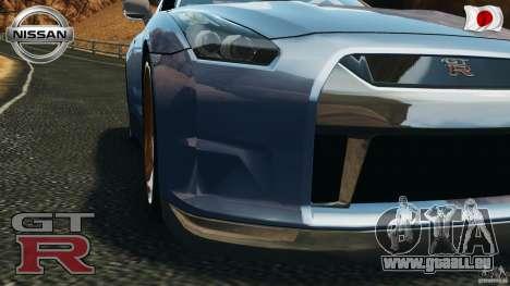 Nissan GT-R 35 rEACT v1.0 für GTA 4 Rückansicht