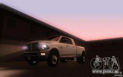 Dodge Ram 3500 Laramie 2010 für GTA San Andreas linke Ansicht