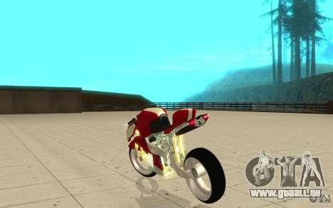New NRG Standart version pour GTA San Andreas sur la vue arrière gauche
