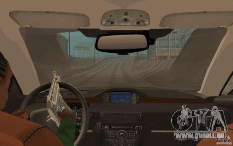 CLEO script: vue depuis la cabine sans pavé num pour GTA San Andreas