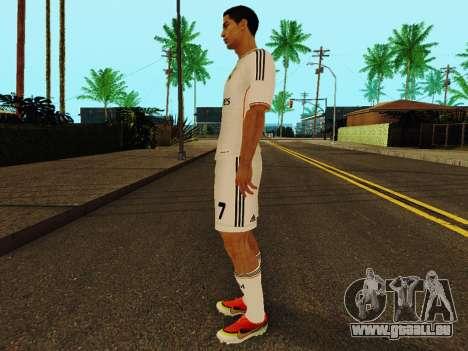 Cristiano Ronaldo-v1 für GTA San Andreas dritten Screenshot