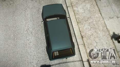Volkswagen Golf 2 Low is a Life Style pour GTA 4 est une vue de l'intérieur