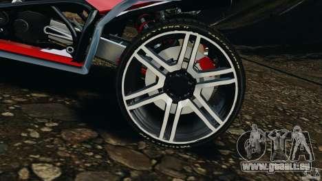 ATV PCJ Sport pour GTA 4 est une vue de l'intérieur