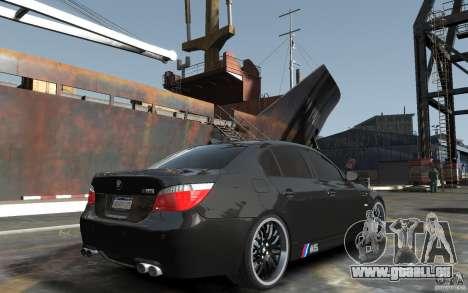 BMW M5 Hamman pour GTA 4 est un droit