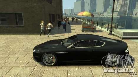 Aston Martin DBS Coupe v1.1f für GTA 4 linke Ansicht