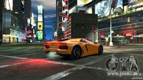 Lamborghini Aventador LP700-4 2011 EPM pour GTA 4 est une gauche