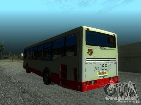 Nefaz 5299 10-32 pour GTA San Andreas sur la vue arrière gauche