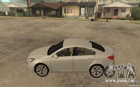 Opel Insignia OPC 2010 für GTA San Andreas linke Ansicht
