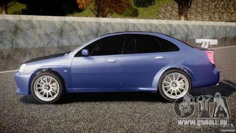 Chevrolet Lacetti WTCC Street Tun [Beta] für GTA 4 linke Ansicht