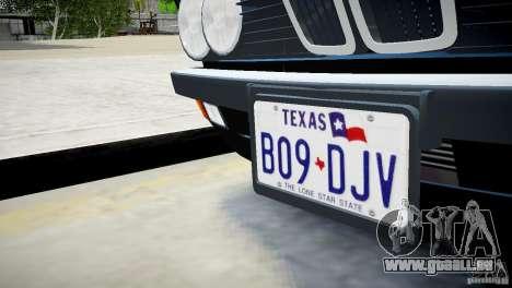 BMW 535 E28 pour GTA 4 Vue arrière