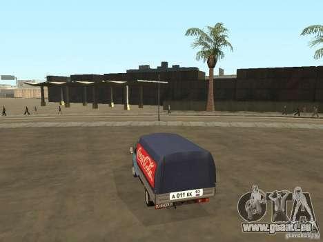 3302 Gazelle v. 2.0 für GTA San Andreas linke Ansicht