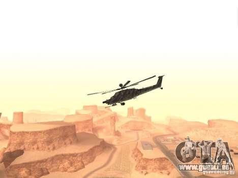 MI 28 Havok pour GTA San Andreas laissé vue