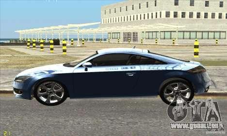 Audi TT 2006 pour GTA San Andreas laissé vue