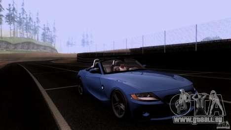 BMW Z4 V10 pour GTA San Andreas vue de côté