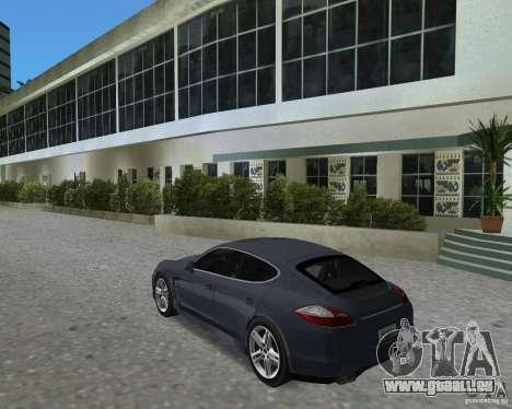 Porsche Panamera pour une vue GTA Vice City de la droite