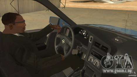 Opel Astra F Tuning pour GTA San Andreas vue intérieure