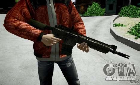 Colt CM901 de MW3 pour GTA 4 troisième écran