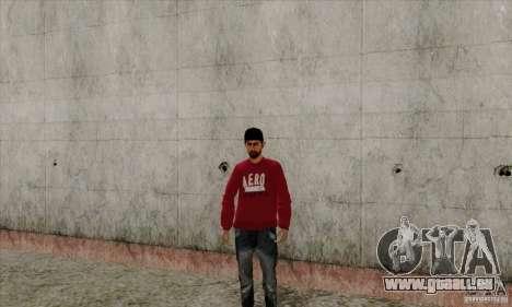 Haut-Ersatz Bmyst für GTA San Andreas dritten Screenshot