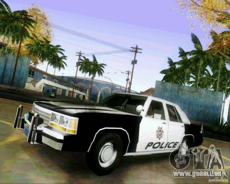 Ford Crown Victoria LTD 1991 LVMPD pour GTA San Andreas
