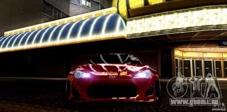Scion FR-S für GTA San Andreas rechten Ansicht