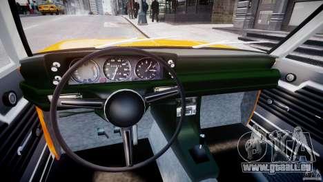 BMW 2002 1972 pour GTA 4 Vue arrière